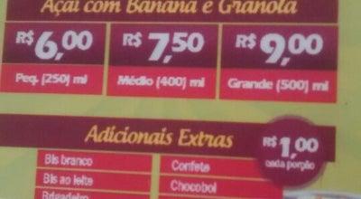Photo of Ice Cream Shop Fruit Shake at Rua Dq. De Caxias, Camacari 42800-150, Brazil