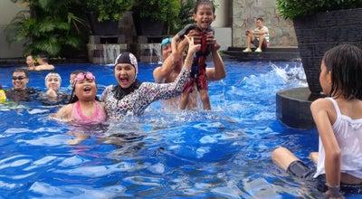Photo of Pool Swimming Pool Hotel The Aryaduta Palembang at Jl. Angkatan 45, Palembang, Indonesia