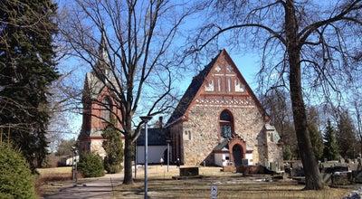 Photo of Church Pyhän Laurin kirkko - Helsingin pitäjän kirkko at Kirkkotie 45, Vantaa 01510, Finland