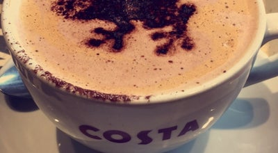 Photo of Coffee Shop Costa Coffee at Marsh Mills Retail Park, Plymouth, United Kingdom