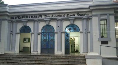 Photo of Library Biblioteca Pública Municipal Maria Aparecida de Almeida Nogueira at Brazil