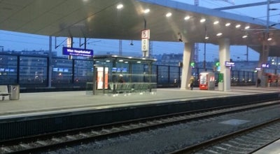 Photo of Train Station Wien Hauptbahnhof at Am Hauptbahnhof 1, Wien 1100, Austria