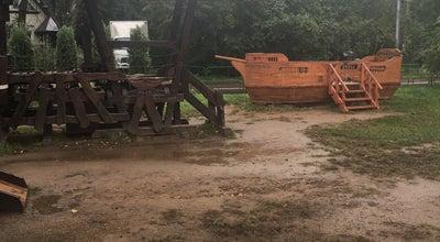 Photo of Playground Детская площадка в поселке Художников at Ул. Поленова, Москва, Russia