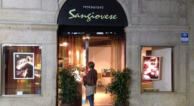 Photo of Spanish Restaurant Sangiovese at Carrer De Sant Josep, 44, Mataró 08302, Spain
