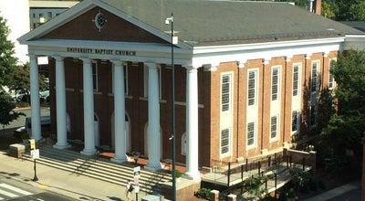 Photo of Church University Baptist Church at 1223 W Main St, Charlottesville, VA 22903, United States