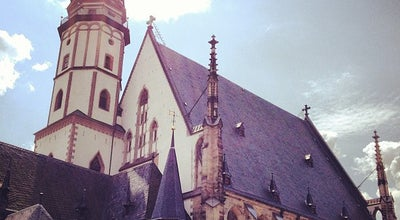 Photo of Monument / Landmark St. Thomas Church (Thomaskirche) at Thomaskirchhof, Leipzig, Germany