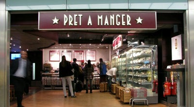 Photo of Fast Food Restaurant Pret A Manger at 77-78 St Martin's Ln, Leicester Square WC2N 4AA, United Kingdom