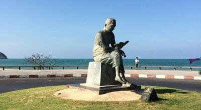 Photo of Outdoor Sculpture ประติมากรรมคนอ่านหนังสือ at Mueang Songkhla 90000, Thailand