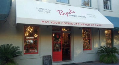 Photo of Gift Shop Byrd's Famous Cookies {City Market} at 213 W Saint Julian St, Savannah, GA 31401, United States