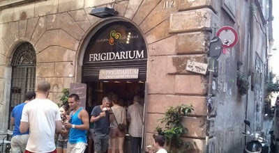 Photo of Ice Cream Shop Frigidarium at Via Del Governo Vecchio 112, Roma 00186, Italy