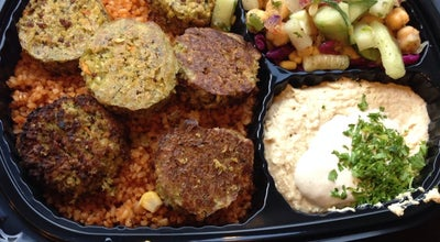 Photo of Middle Eastern Restaurant Chickpea at 688 Avenue Of The Americas, New York, NY 10010, United States