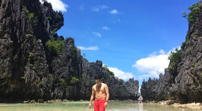 Photo of Beach Hidden Beach at El Nido, Philippines