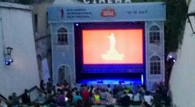 Photo of Indie Movie Theater cinema stella artois at Ланжероновский Спуск, Одесса, Ukraine