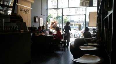 Photo of Cafe Blank Cafe at 25 Broadway, Brooklyn, NY 11249, United States