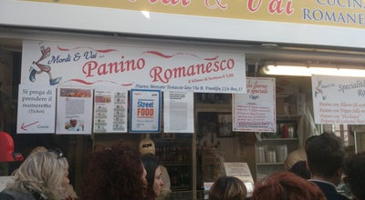 Photo of Sandwich Place Mordi & Vai at Via Benjamin Franklin, Rome, Italy