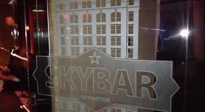 Photo of Cocktail Bar SKYBAR at 269 W Main St, Lexington, KY 40507, United States