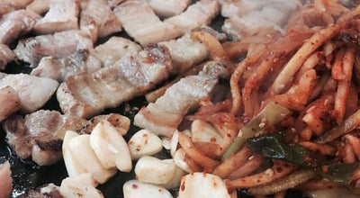 Photo of BBQ Joint 머내 돌삼겹살 at 영통구 영일로 16-5, 수원시, South Korea