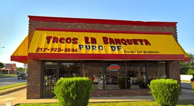 Photo of Mexican Restaurant Tacos La Banqueta at 2621 Hemphill St, Fort Worth, TX 76110, United States