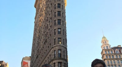 Photo of Monument / Landmark Flatiron Building at 175 Fifth Ave., New York City, NY 10010, United States