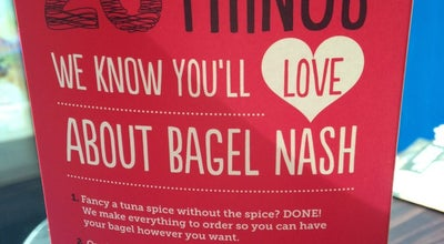 Photo of Bagel Shop Bagel Nash at 34 St. Paul's Street, Leeds LS1 2QB, United Kingdom