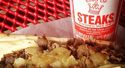 Photo of Sandwich Place Pat's King of Steaks at 1237 E Passyunk Ave, Philadelphia, PA 19147, United States