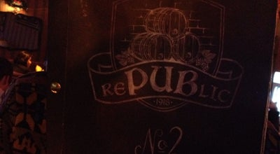 Photo of Pub rePUBlic No.2 at Vilniaus G. 13, Kaunas 44287, Lithuania