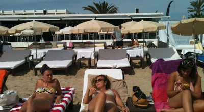 Photo of Cocktail Bar Nassau Beach Club at Platja D'en Bossa, S/n, Sant Josep de Sa Talaia 07817, Spain