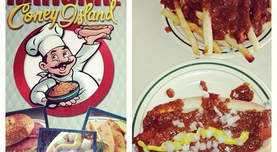 Photo of Diner National Coney Island at 2541 Worldgateway Pl, Detroit, MI 48242, United States