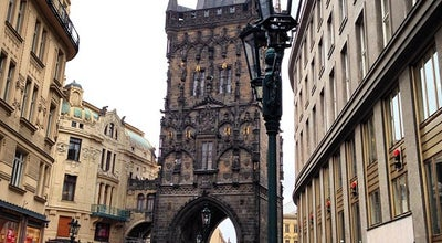 Photo of Historic Site Prašná brána | The Powder Tower at Na Příkopě, Praha 110 00, Czech Republic