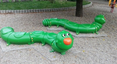 Photo of Playground Köztársaság téri játszótér at Köztársaság Tér, Pécs, Hungary