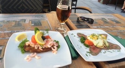 Photo of Scandinavian Restaurant cafe fremtiden at Sankt Annæ Plads 22, Copenhagen 1250, Denmark