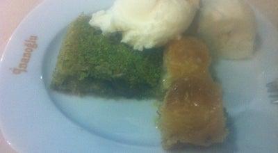 Photo of Dessert Shop Gaziantepli Inanoglu Pastanesi at İstasyon Cad.no:28, Tire 35900, Turkey