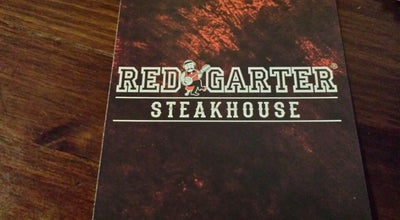 Photo of American Restaurant Red Garter Steakhouse at Via Dei Benci 35/r, Florence 50122, Italy