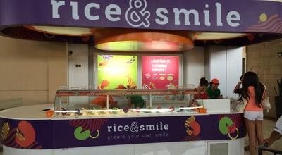 Photo of Dessert Shop rice & smile - Multiplaza Escazú at Kiosco En Area De Comidas Sobre Los Cines, Escazu, Costa Rica