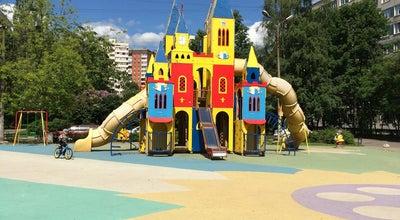 Photo of Playground детская площадка на Богатырском at Санкт-Петербург, Russia