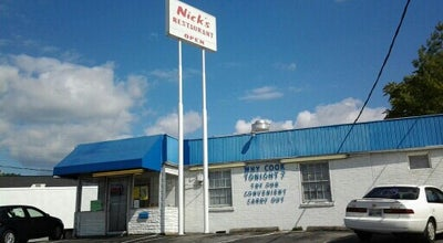 Photo of Fried Chicken Joint Nick's Family Restaurant at 1921-1937 Sherwood Rd, Kingsport, TN 37664, United States
