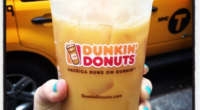 Photo of Coffee Shop Dunkin Donuts at 80 Madison Ave, New York, NY 10016, United States