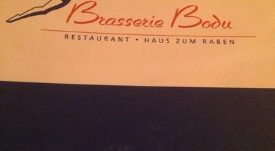 Photo of French Restaurant Brasserie Bodu at Kornmarkt 5, Luzern 6004, Switzerland