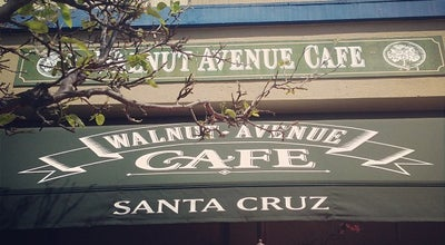 Photo of Cafe The Walnut Avenue Cafe at 106 Walnut Ave, Santa Cruz, CA 95060, United States
