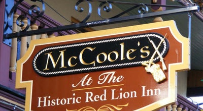 Photo of American Restaurant McCoole's at the Historic Red Lion Inn at 4 S Main St, Quakertown, PA 18951, United States