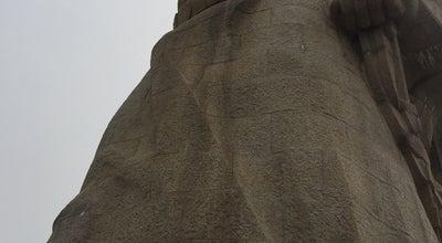 Photo of Monument / Landmark 郑成功雕像 Statue of Zheng Chenggong at 福建省厦门市思明区鹭江道, Gulangyu, Fu, China