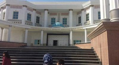Photo of Art Museum Şekillendiriş sungaty muzeýi / Museum of Fine Arts at Alişer Nawoýi Köçesi, 88, Aşgabat 744000, Turkmenistan