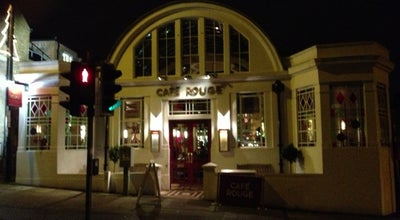 Photo of French Restaurant Café Rouge at 29 Holywell Hill, St Albans AL1 1HD, United Kingdom