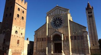 Photo of Church Basilica di San Zeno at Piazza San Zeno, Verona 37123, Italy