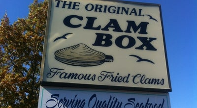 Photo of Seafood Restaurant The Clam Box at 789 Quincy Shore Dr, Quincy, MA 02170, United States