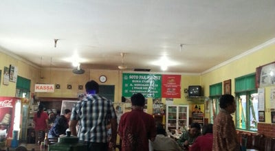 Photo of Asian Restaurant Soto Ayam Pak Slamet at Mejing Kidul, Gamping, Sleman, Indonesia