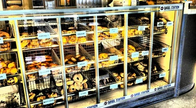 Photo of Bagel Shop Bagel Station at Oakwood Ave, Winston-Salem, NC 27103, United States