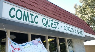 Photo of Bookstore Comic Quest at 23811 Bridger Rd #100, Lake Forest, CA 92630, United States