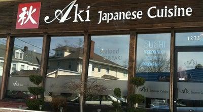 Photo of Japanese Restaurant Aki Sushi at 1273 Broad St, Bloomfield, NJ 07003, United States