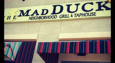 Photo of American Restaurant The Mad Duck Neighborhood Grill & Taphouse at 765 W Herndon Ave #200, Clovis, CA 93612, United States